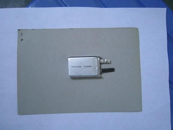 Low Temp Lithium Polymer Battery 3.7v , 1000mAh Lithium Battery CE