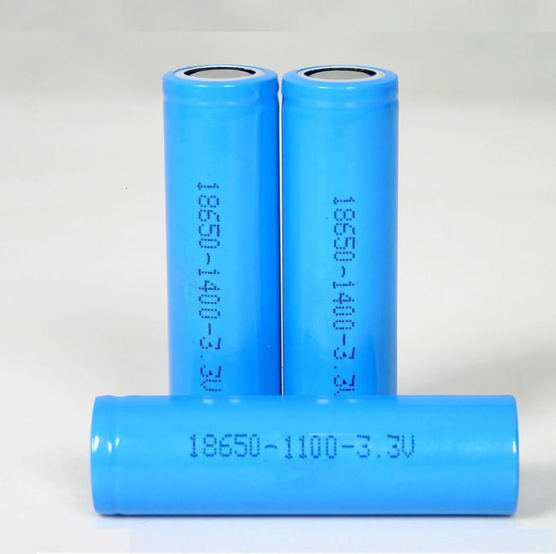18650 3.2V Lithium LiFePO4 Battery 1500mAh High Discharge For Power Tools