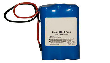 High Capacity 8800mAh 7.4V Lithium Ion Battery Packs For Medical Equipment