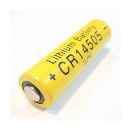 CR14505 3.0V Li-mno2 Battery 1800mAh , Camera Lithium Batteries