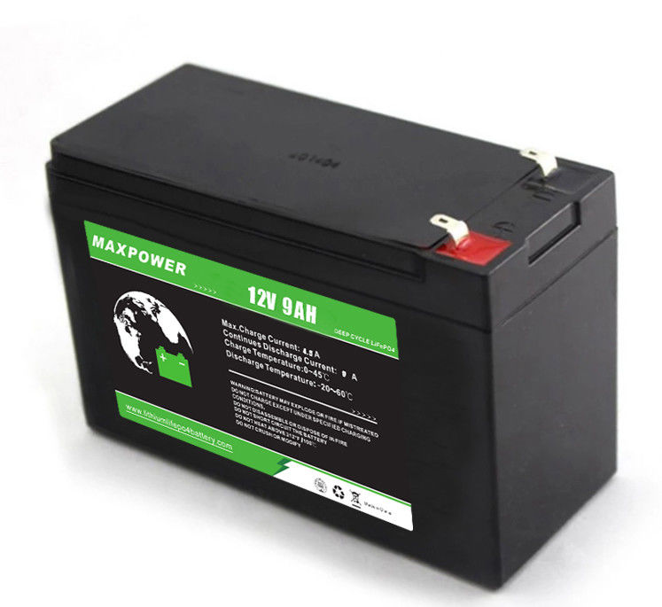 Deep Cycle 115.2Wh 12V 9Ah ESS PV lifepo4 battery cells