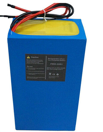 Electric Bike lithium ion aa rechargeable battery 48v 20ah For High Capacity